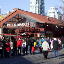 exterior granville island public market building