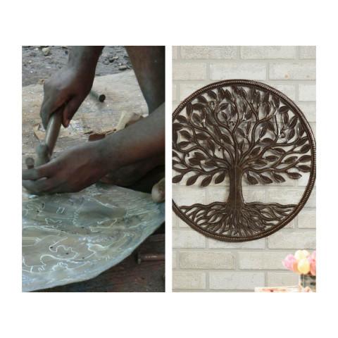 haitian oil drum art